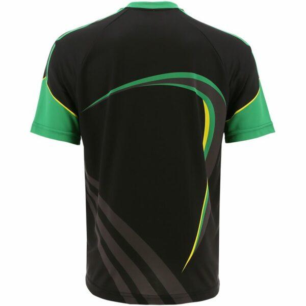 kerry training top blk green